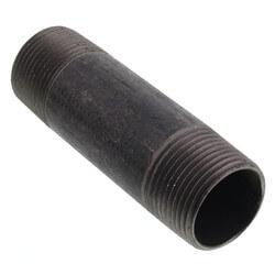 """1"""" x 4"""" Black Nipple Product Image"""