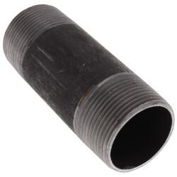 """1-1/4"""" x 4"""" Black Nipple Product Image"""