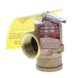 """M335M2, 3/4"""" Female Pressure Relief Valve Product Image"""