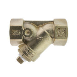 "1-1/4"" LF777SI Lead Free Brass Wye Strainer (Threaded) Product Image"