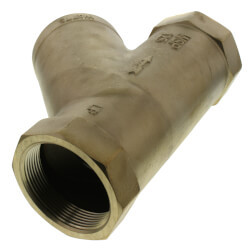 "3"" LF777SI Lead Free Brass Wye Strainer (Threaded) Product Image"