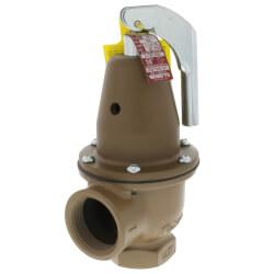 "1-1/4"" x 1-1/2"" Boiler Pressure Relief Valve (30 psi) Product Image"