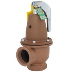 "1-1/4"" x 1-1/2"" Boiler Pressure Relief Valve (50 psi)"