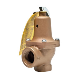 "1-1/2"" x 2"" Boiler Pressure Relief Valve (50 psi)"