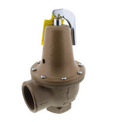 "2"" x 2-1/2"" Boiler Pressure Relief Valve (30 psi) Product Image"