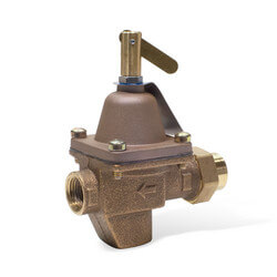 "TB1156F 1/2"" Bronze High Capacity Feed Water Pressure Regulator"