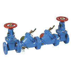 "3"" LF709-OSY Lead Free Double Check Valve Assembly Product Image"