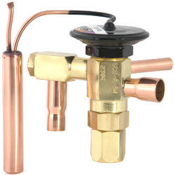 "3/8"" x 1/2"" SCE-AAA-VW Thermal Expansion Valve (1/6 to 1/3 Tons) Product Image"