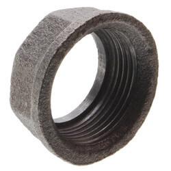 "3/4"" Black Gas Meter Nut Product Image"