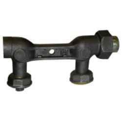 """1"""" x 1-1/4"""" x 1-1/4""""<br>Side-In/Side-Out Black Meter Bar (8-1/4"""" Length) Product Image"""