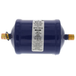"3/8"" ODF BFK-083S Series Liquid line Bi-<br>Directional Filter Drier Product Image"