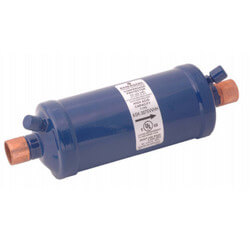 "3/4"" ODF ASK-166S-W-HH Charcoal Blend Suction Line Filter Drier Product Image"