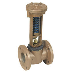 "4"" F127W Flanged High Capacity Water Pressure Reducing Valve, Lead Free"