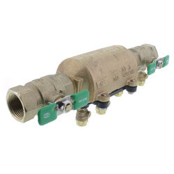 """1"""" Wilkins 350XL Double Check Valve Assembly (Lead Free) Product Image"""