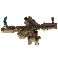 "1"" Wilkins 975XLTU RPZ with Union Ball Valves (Lead Free) Product Image"