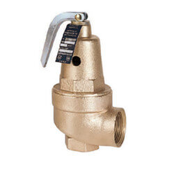 "3/4"" x 1"" Hot Water High Capacity Pressure Relief Valve, 30 psi Product Image"