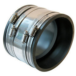 """4"""" x 4"""" Shear Ring Coupling (Clay to Asbestos or Ductile Iron) Product Image"""