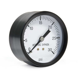 Steam Pressure Gauge for IN-INPV Boilers