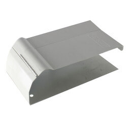 """30A Fine/Line 4-1/8"""" Wall Trim, Floor Length, Right Product Image"""