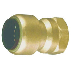 "1/4"" Tectite x 1/2"" Female Adapter (Lead Free) Product Image"