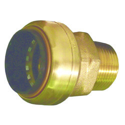 "1/4"" Tectite x 1/2"" Male Adapter (Lead Free) Product Image"