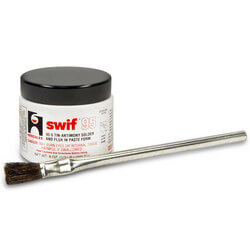 1/2 lb. Swif 95 Solder & Flux Paste (w/ brush)