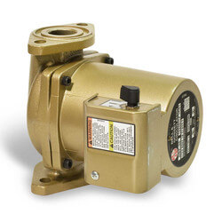 1/6 HP, NBF-36 3-Speed Bronze Circulator Pump