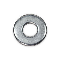 "1/4"" Round Washer (Electro-Galvanized)"