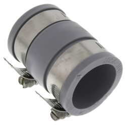 """1"""" x 1-1/4"""" Flexible Coupling (PVC to Copper) Product Image"""