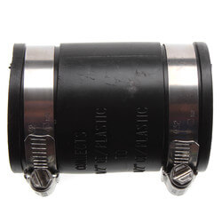 """1-1/2"""" Flexible Coupling (Cast Iron or PVC to Cast Iron or PVC) Product Image"""