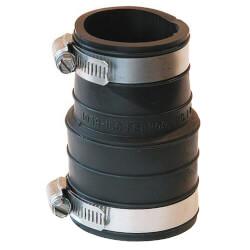 "2"" x 1-1/2"" Flexible Coupling (PVC Socket to PVC Pipe) Product Image"