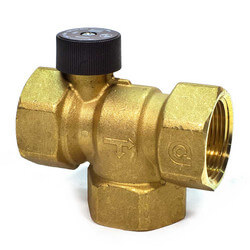 "1-1/4"" NPT Bronze HydroTrol Flow Control Valve"
