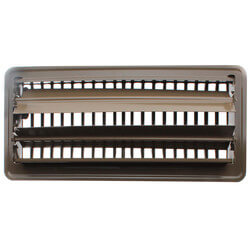 "4"" x 10"" Golden Sand Floor Register (421M Series)"