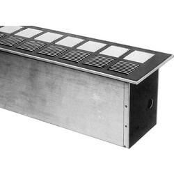 Hydronic Floor Box w/ Grille