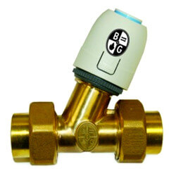 "SZV-100S-4WE - 1""<br>Sweat Zone Valve (4-Wire) Product Image"