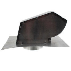 "4"" Aluminum Roof Vent w/ Screen Product Image"