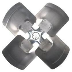 """22"""" 4-Blade Fan Assembly with 1/2"""" Bore Product Image"""