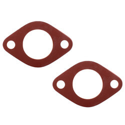 "1/8"" Red Rubber Flange Gasket (Pack of 2)"