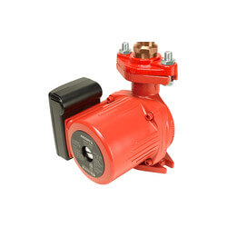 "Astro 225BS075S-T (3/4"" Sweat) Bronze Re-circulator Pump w/ Timer, 0-9 GPM Product Image"