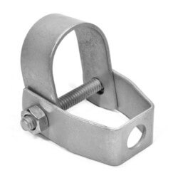 """1/2"""" Copper Epoxy Coated Clevis Hanger Product Image"""