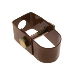 """3/4"""" Copper Epoxy Coated Clevis Hanger Product Image"""