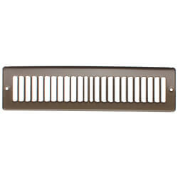 "12"" x 2"" Golden Sand Toe-Space Grille (420 Series)"