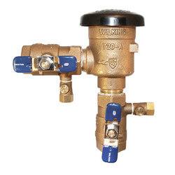 """1-1/4"""" Wilkins 720A Pressure Vacuum Breaker Product Image"""