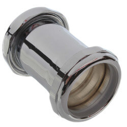 "1-1/2"" Slip Joint Coupling (Chrome-Plated) Product Image"
