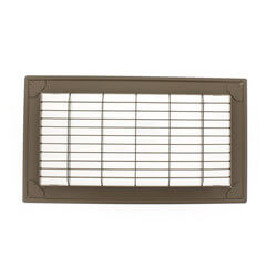 "12"" x 30"" Golden Sand Floor Return Air Grille (265 Series)"