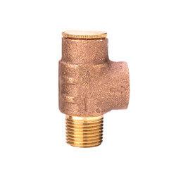 "1/2"" P1550 MNPT x FNPT Pressure Relief Valve (75 PSI) Product Image"