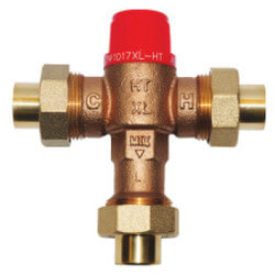 "1/2"" Thermostatic Mixing Valve 80 to 165°F (Union Sweat)"