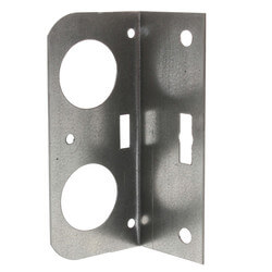 "1/2"", 3/4"", 1"" Galvanized Steel Dual Pipe Bracket"