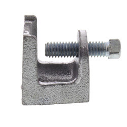 "1/4"" - 20 Malleable Iron Beam Clamp w/ 3/4"" Opening Product Image"
