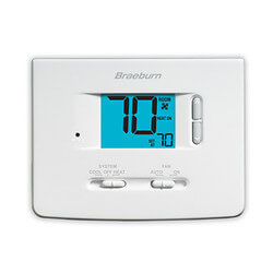 2 Heat/1 Cool Non-Programmable Thermostat - Builder Series